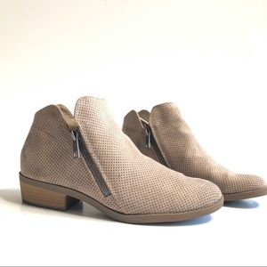 Universal Thread Dylan Suede Perforation Bootie